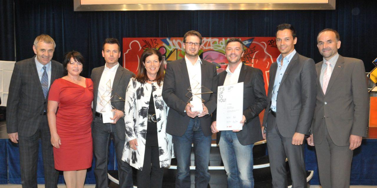 Auszeichnung für hervorragende Jungunternehmer