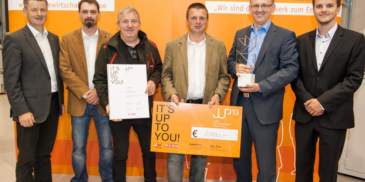 SMATECH gewinnt Jungunternehmerpreis 2013