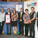 Staatspreis 2016 für Pulverbeschichtung Wolfmair
