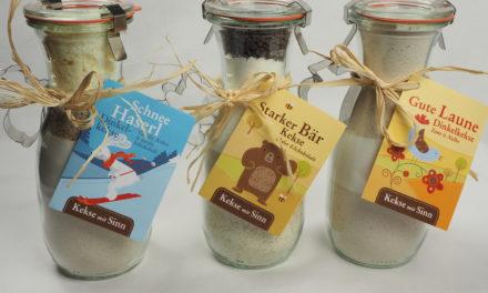 Neu auf der Bio-Messe: Kekse mit Sinn im Glas
