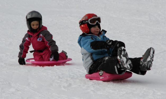 Schnee-Spaß am Viehberg