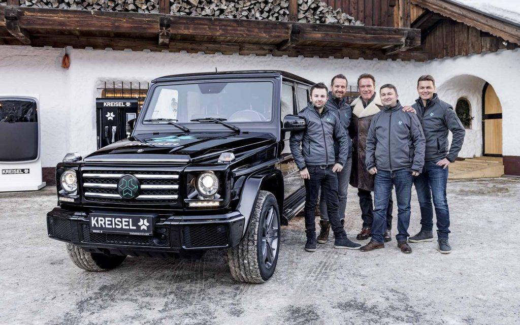 Luxus Geländewagen trifft Elektromobilität