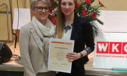 Auszeichnung für Bäcker-Lehrling