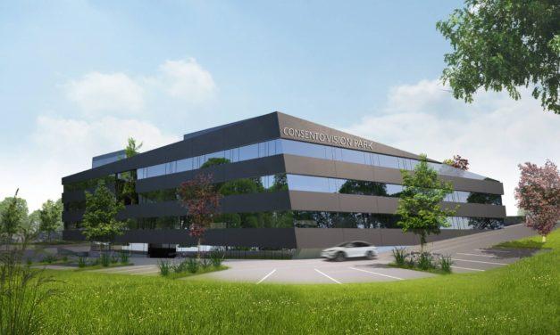 Neuer Geschäftskomplex in Wartberg