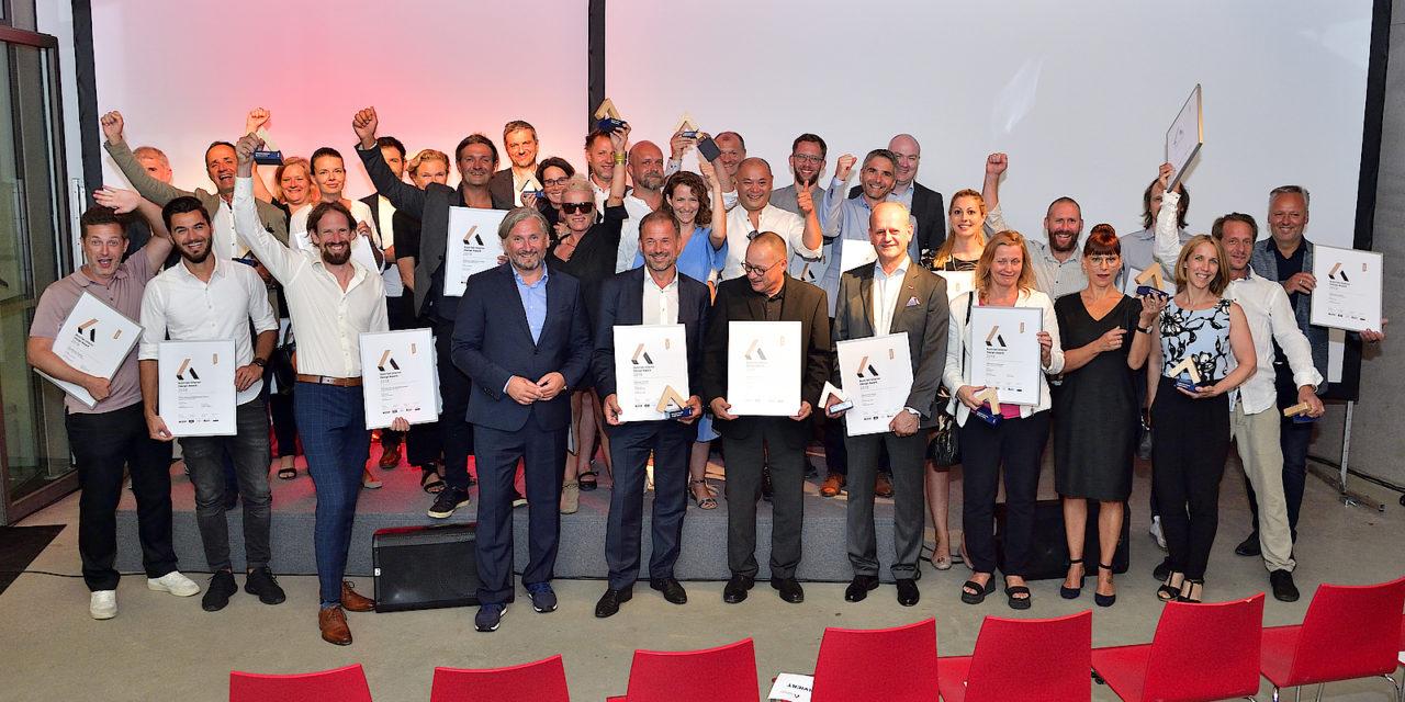Fünf Design-Awards abgeräumt