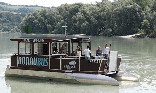 Donaubus fährt wieder