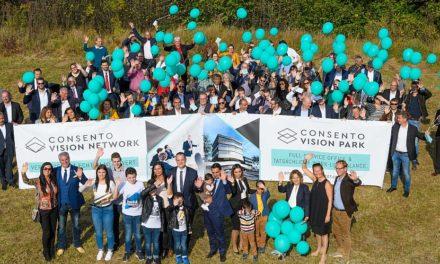 Baustart-Fest für neuen Firmenstandort