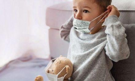 Mundschutz für die Kleinen