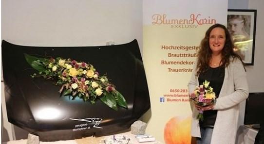 Blumen treffen auf Gemüse