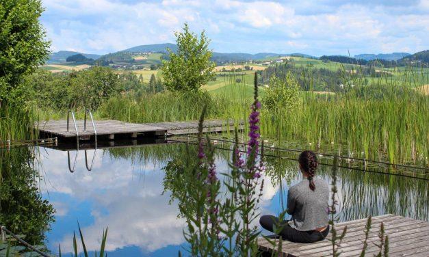 Yoga und viel Natur