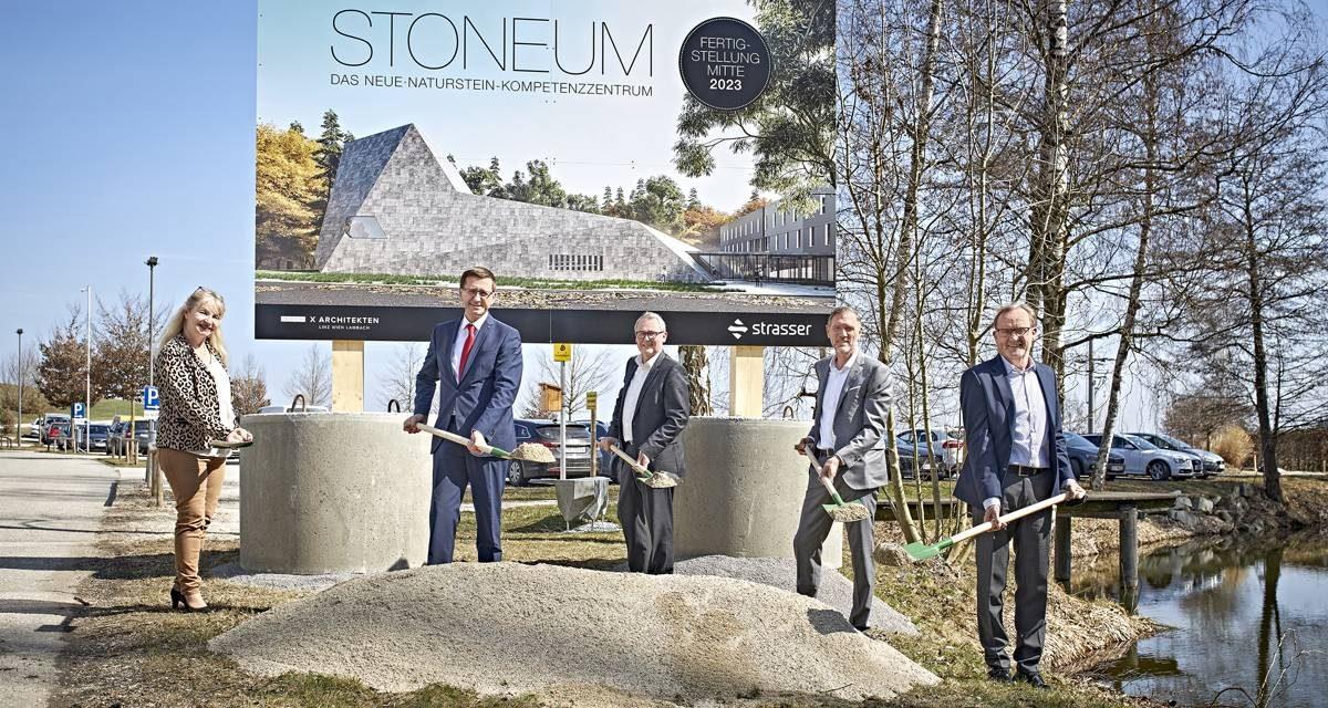 """STRASSER baut Stein-Erlebniswelt """"Stoneum"""""""
